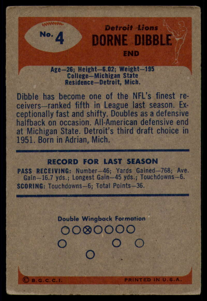 1955-Bowman-Football-1-70-Complete-your-set-Pick-your-card thumbnail 19