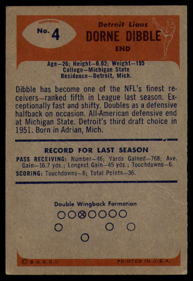 1955-Bowman-Football-1-70-Complete-your-set-Pick-your-card thumbnail 21