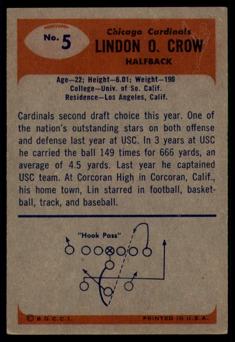 1955-Bowman-Football-1-70-Complete-your-set-Pick-your-card thumbnail 27