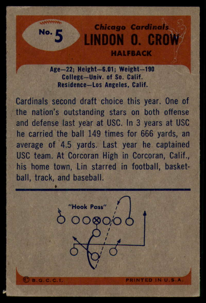 1955-Bowman-Football-1-70-Complete-your-set-Pick-your-card thumbnail 29