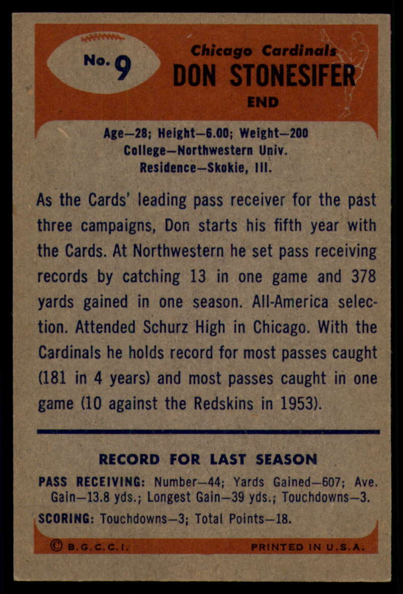 1955-Bowman-Football-1-70-Complete-your-set-Pick-your-card thumbnail 43
