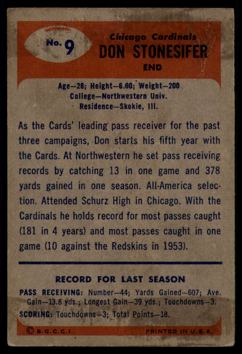 1955-Bowman-Football-1-70-Complete-your-set-Pick-your-card thumbnail 45
