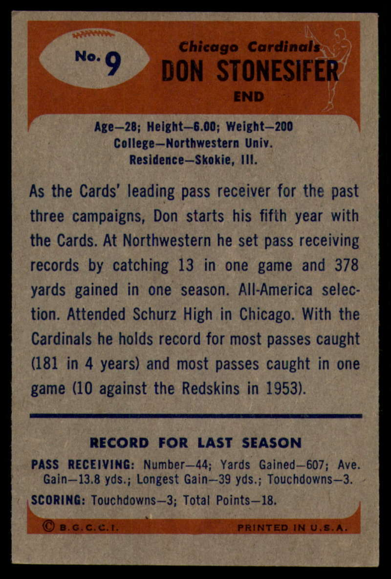 1955-Bowman-Football-1-70-Complete-your-set-Pick-your-card thumbnail 47
