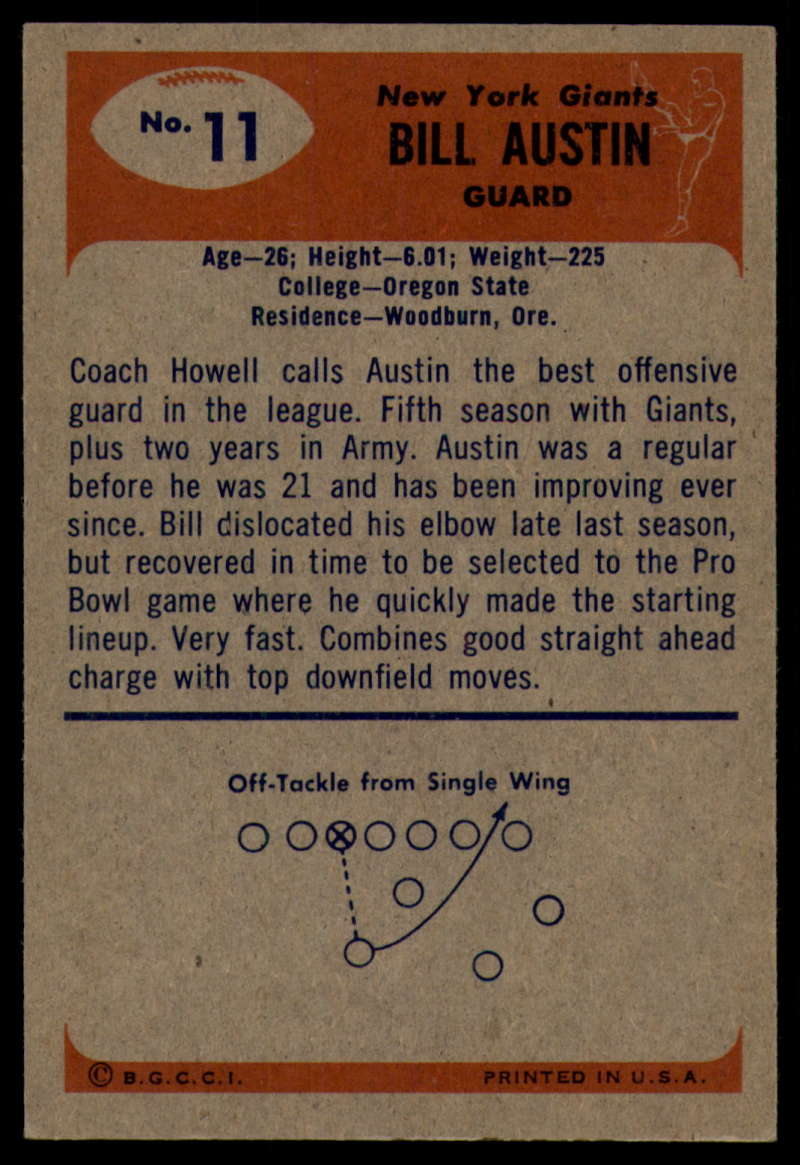 1955-Bowman-Football-1-70-Complete-your-set-Pick-your-card thumbnail 55