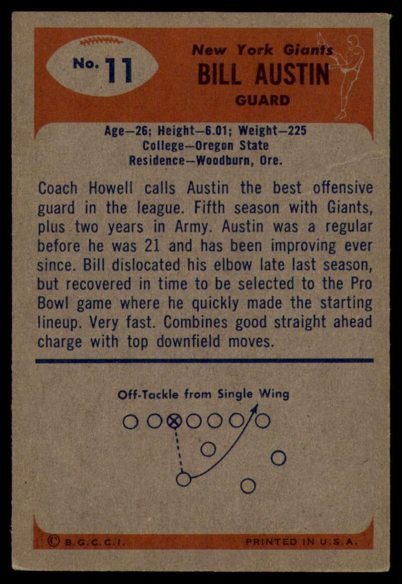 1955-Bowman-Football-1-70-Complete-your-set-Pick-your-card thumbnail 57