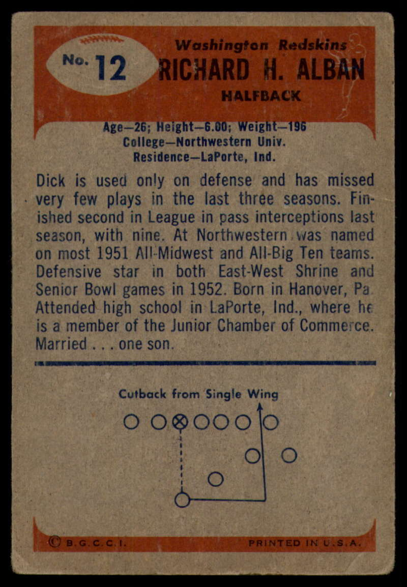 1955-Bowman-Football-1-70-Complete-your-set-Pick-your-card thumbnail 61