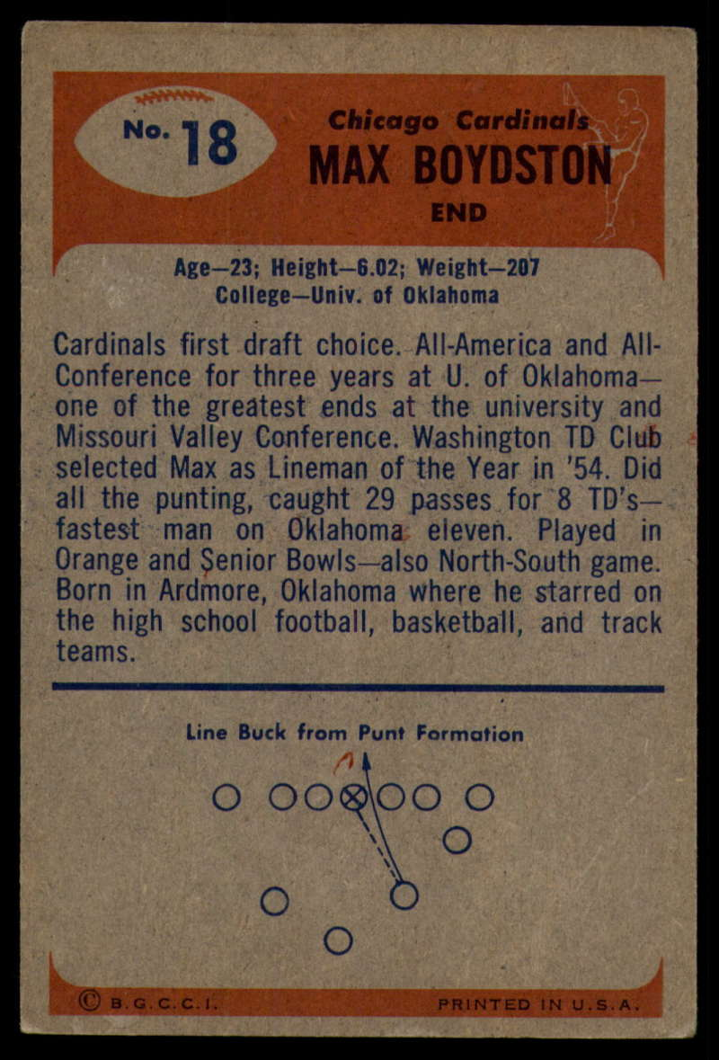 1955-Bowman-Football-1-70-Complete-your-set-Pick-your-card thumbnail 89