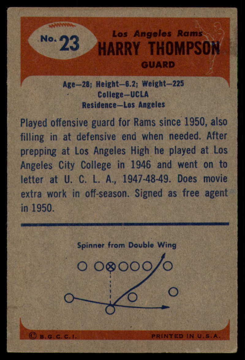 1955-Bowman-Football-1-70-Complete-your-set-Pick-your-card thumbnail 105