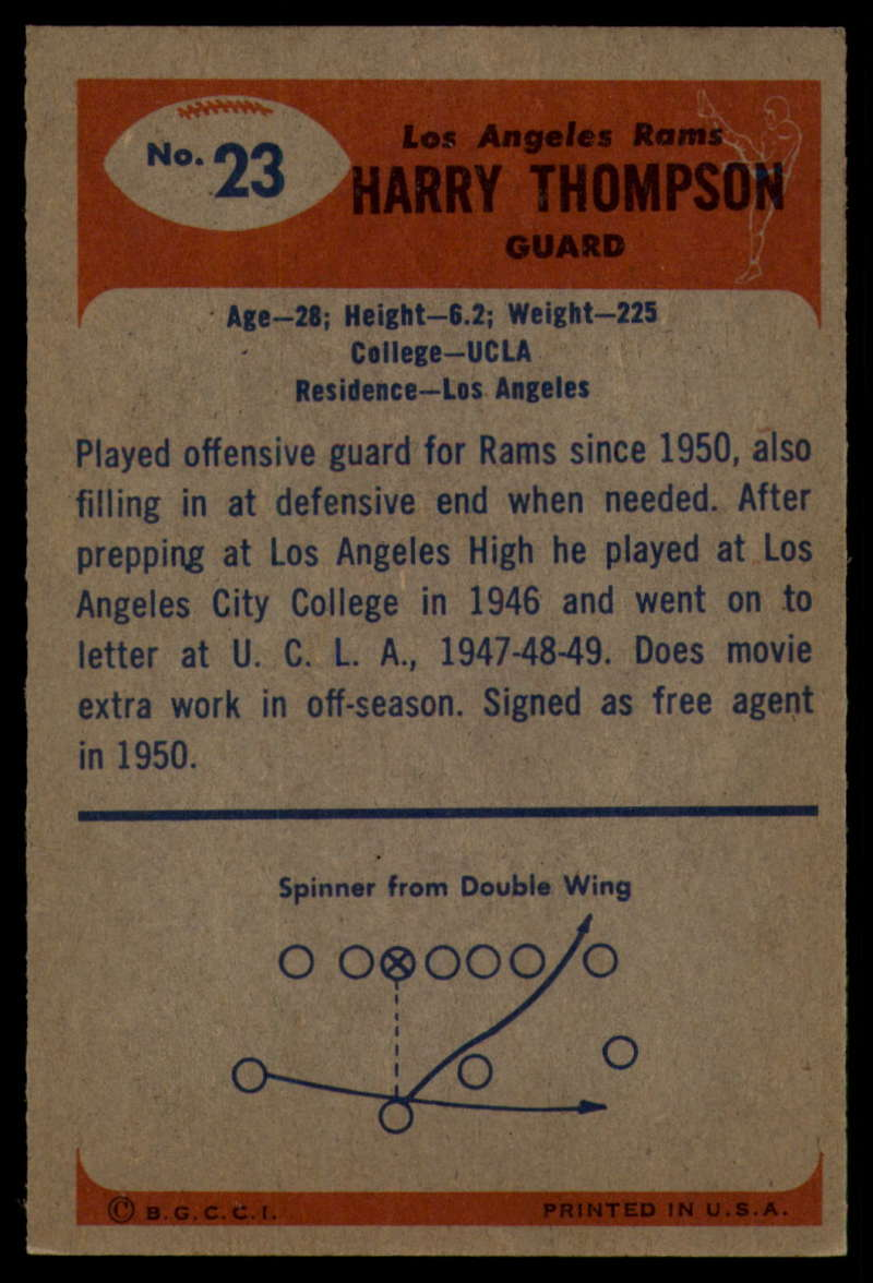 1955-Bowman-Football-1-70-Complete-your-set-Pick-your-card thumbnail 107