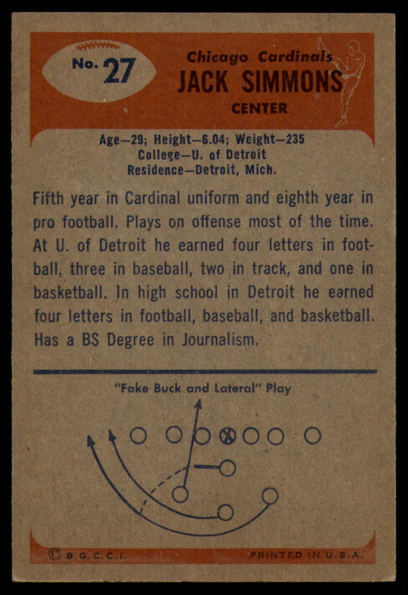 1955-Bowman-Football-1-70-Complete-your-set-Pick-your-card thumbnail 133