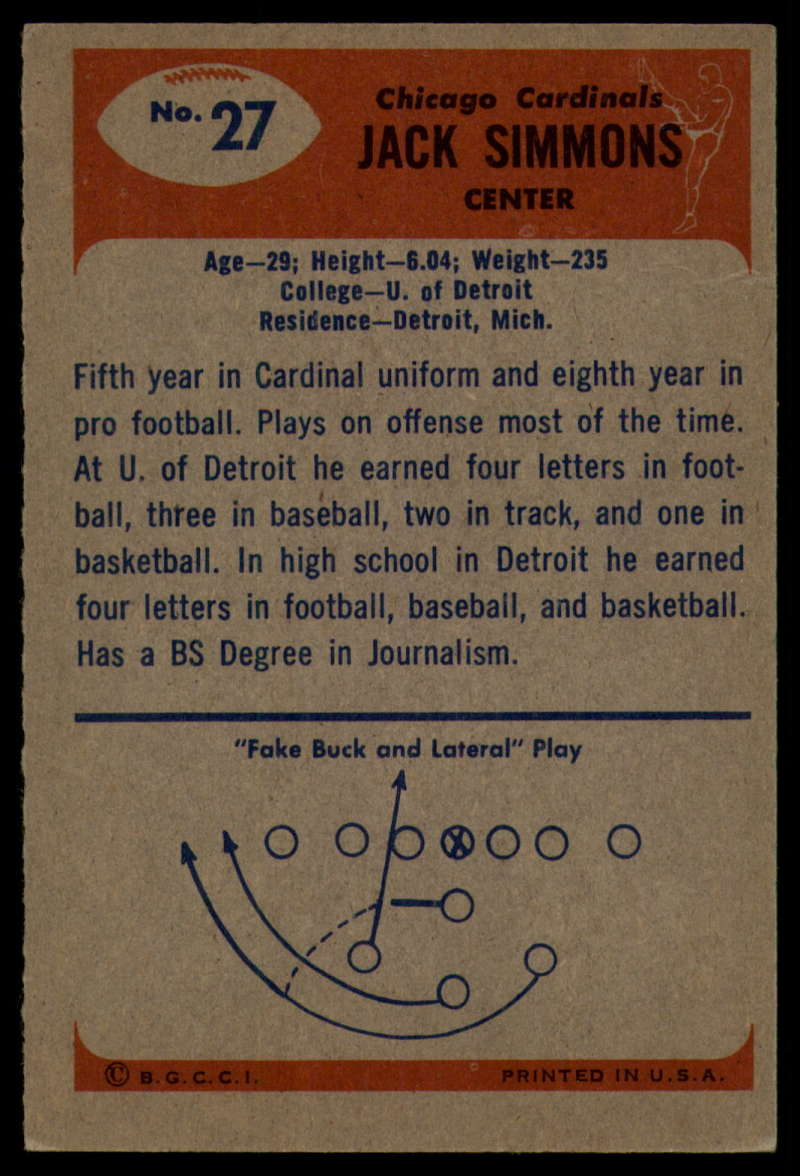 1955-Bowman-Football-1-70-Complete-your-set-Pick-your-card thumbnail 135