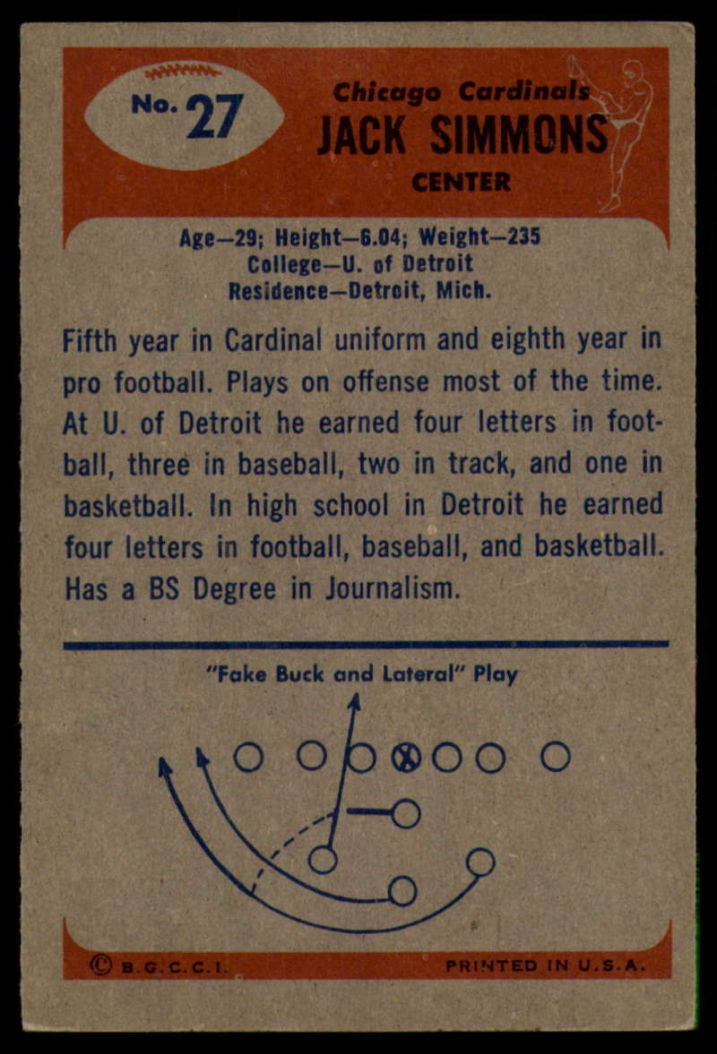 1955-Bowman-Football-1-70-Complete-your-set-Pick-your-card thumbnail 137