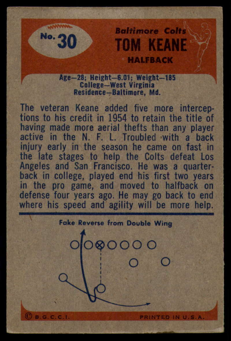 1955-Bowman-Football-1-70-Complete-your-set-Pick-your-card thumbnail 155