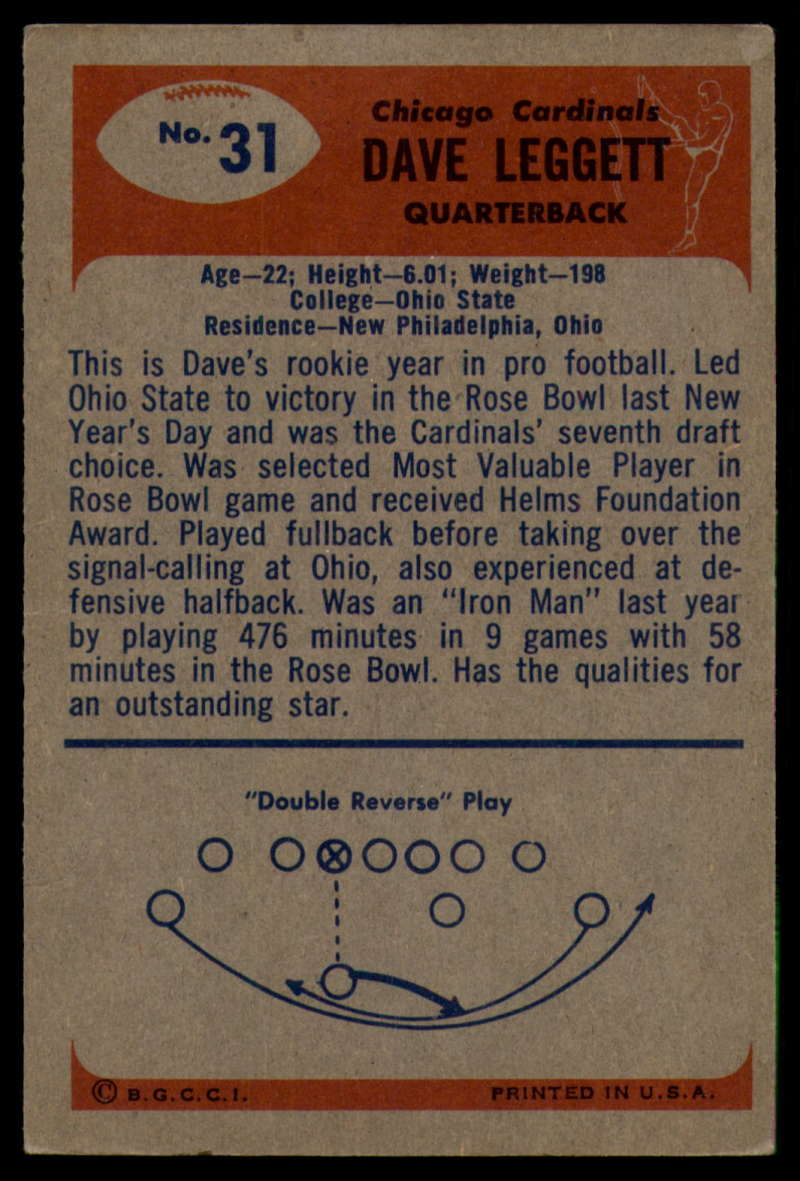 1955-Bowman-Football-1-70-Complete-your-set-Pick-your-card thumbnail 159