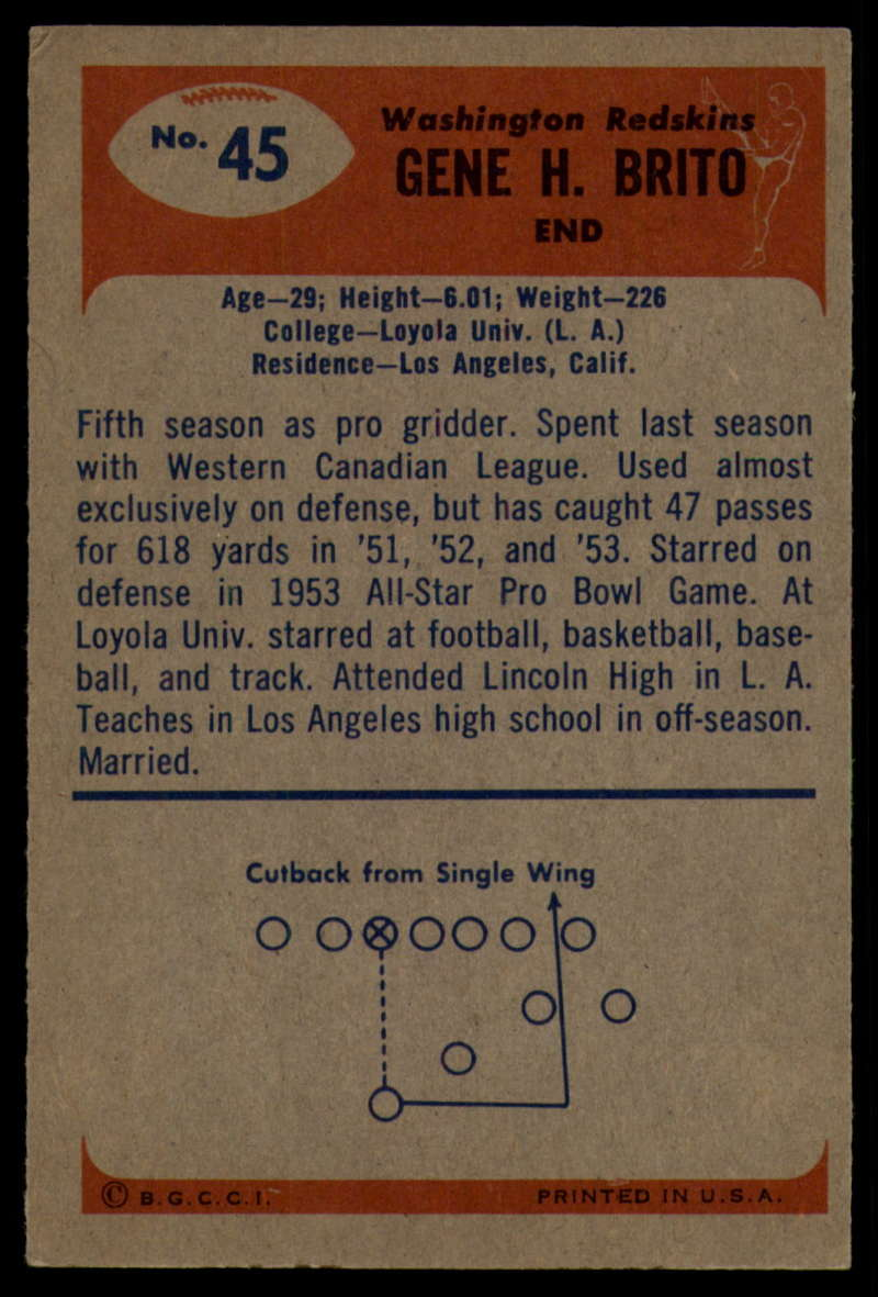 1955-Bowman-Football-1-70-Complete-your-set-Pick-your-card thumbnail 227