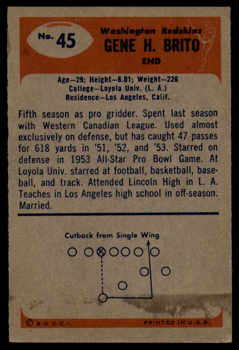 1955-Bowman-Football-1-70-Complete-your-set-Pick-your-card thumbnail 229