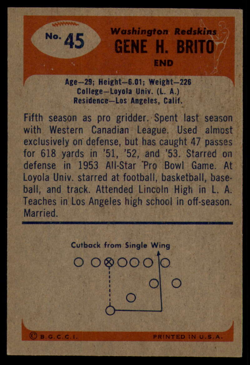 1955-Bowman-Football-1-70-Complete-your-set-Pick-your-card thumbnail 231