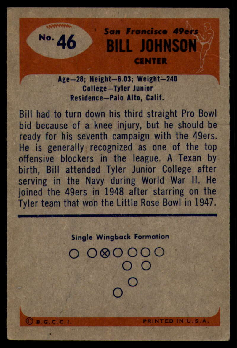 1955-Bowman-Football-1-70-Complete-your-set-Pick-your-card thumbnail 237