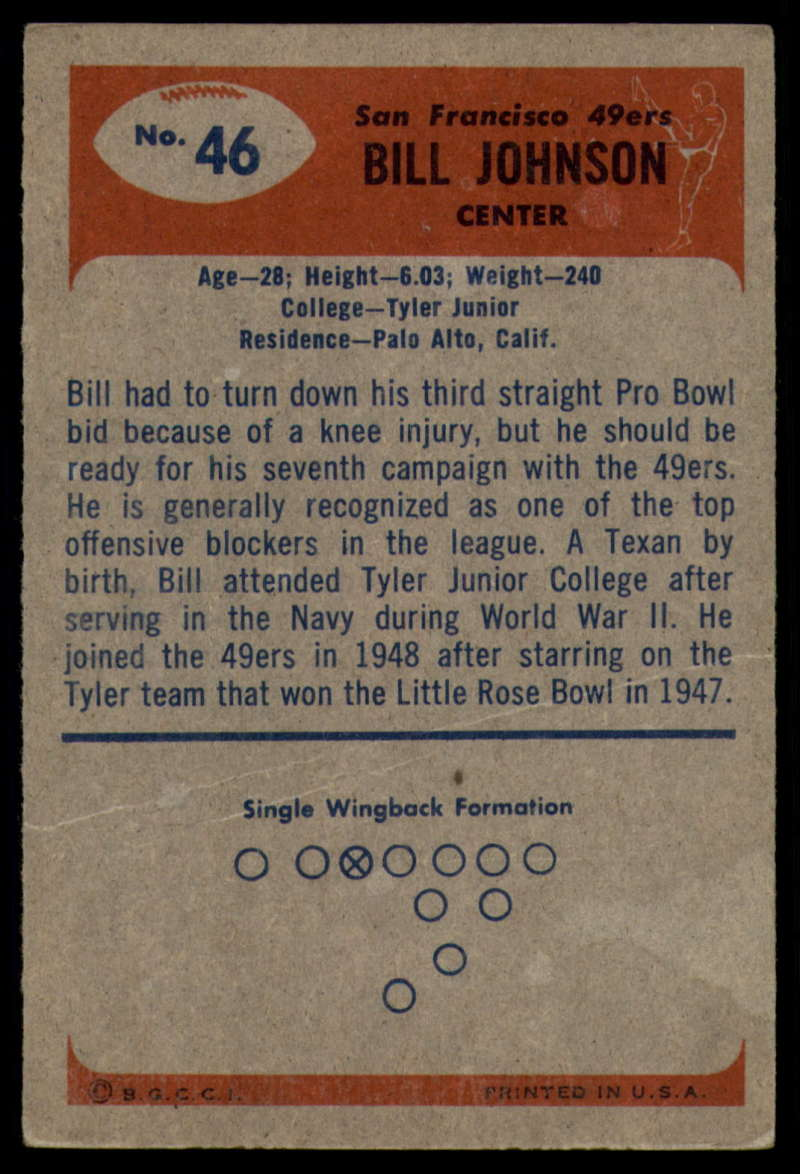 1955-Bowman-Football-1-70-Complete-your-set-Pick-your-card thumbnail 241