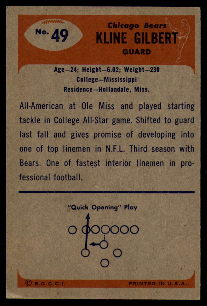 1955-Bowman-Football-1-70-Complete-your-set-Pick-your-card thumbnail 259