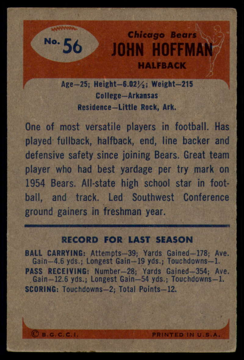 1955-Bowman-Football-1-70-Complete-your-set-Pick-your-card thumbnail 287