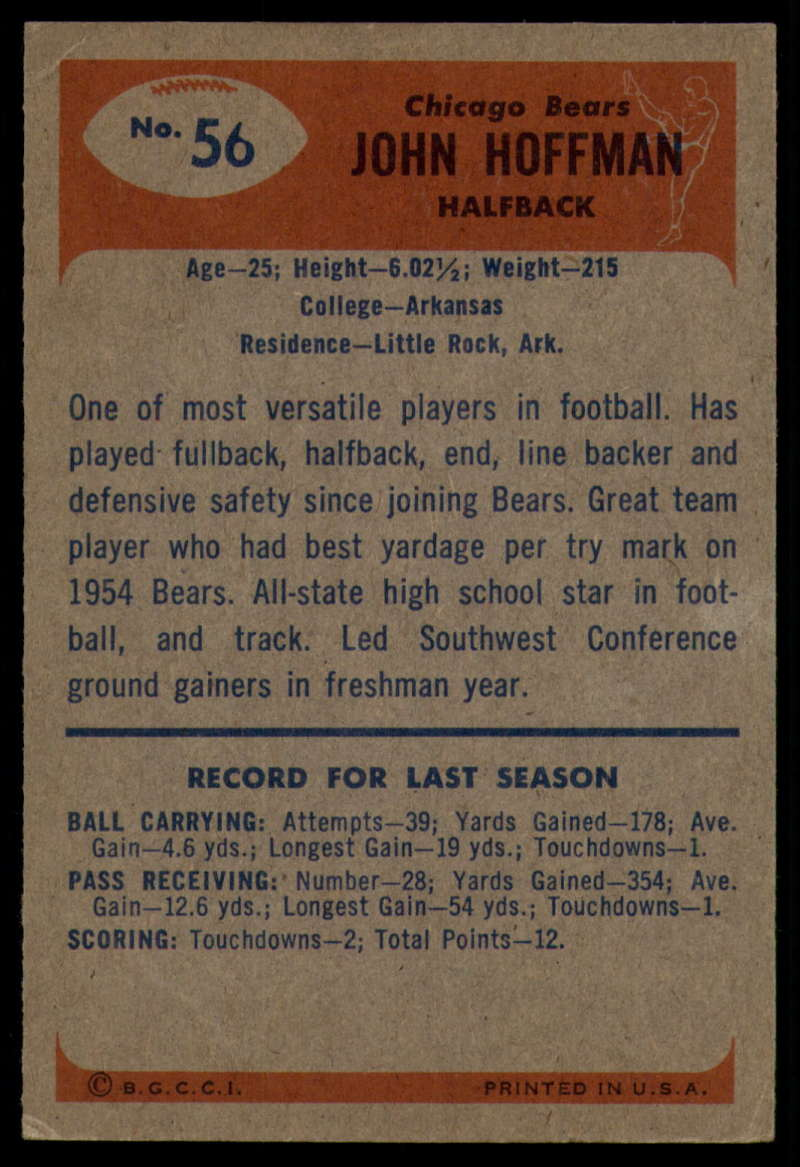 1955-Bowman-Football-1-70-Complete-your-set-Pick-your-card thumbnail 289