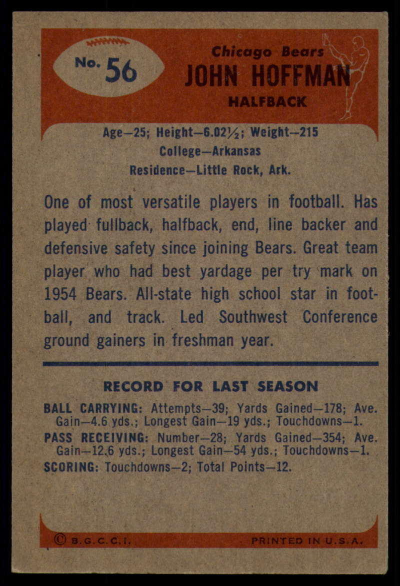 1955-Bowman-Football-1-70-Complete-your-set-Pick-your-card thumbnail 291