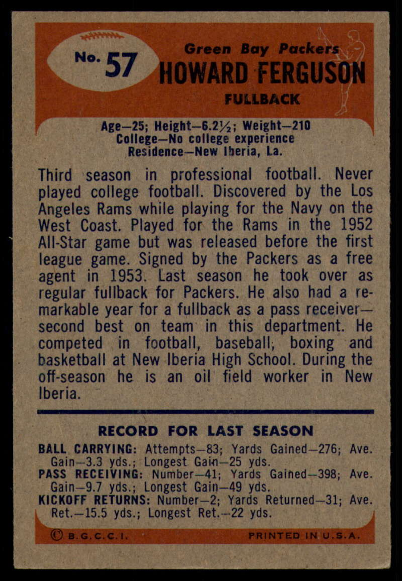 1955-Bowman-Football-1-70-Complete-your-set-Pick-your-card thumbnail 299