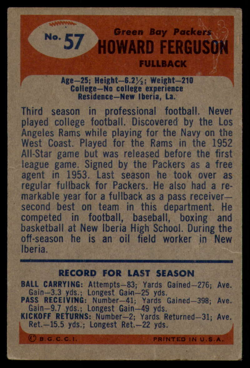 1955-Bowman-Football-1-70-Complete-your-set-Pick-your-card thumbnail 305