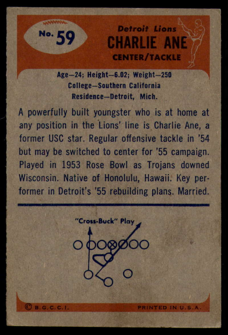 1955-Bowman-Football-1-70-Complete-your-set-Pick-your-card thumbnail 317