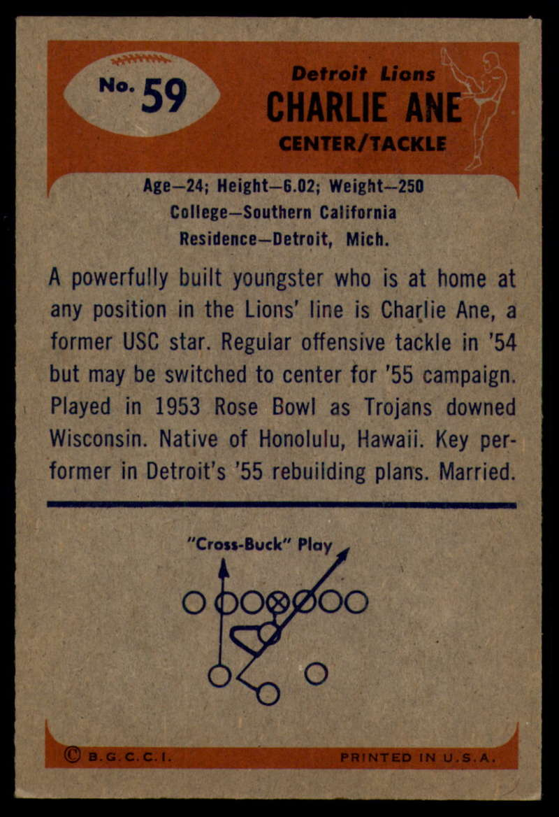 1955-Bowman-Football-1-70-Complete-your-set-Pick-your-card thumbnail 319
