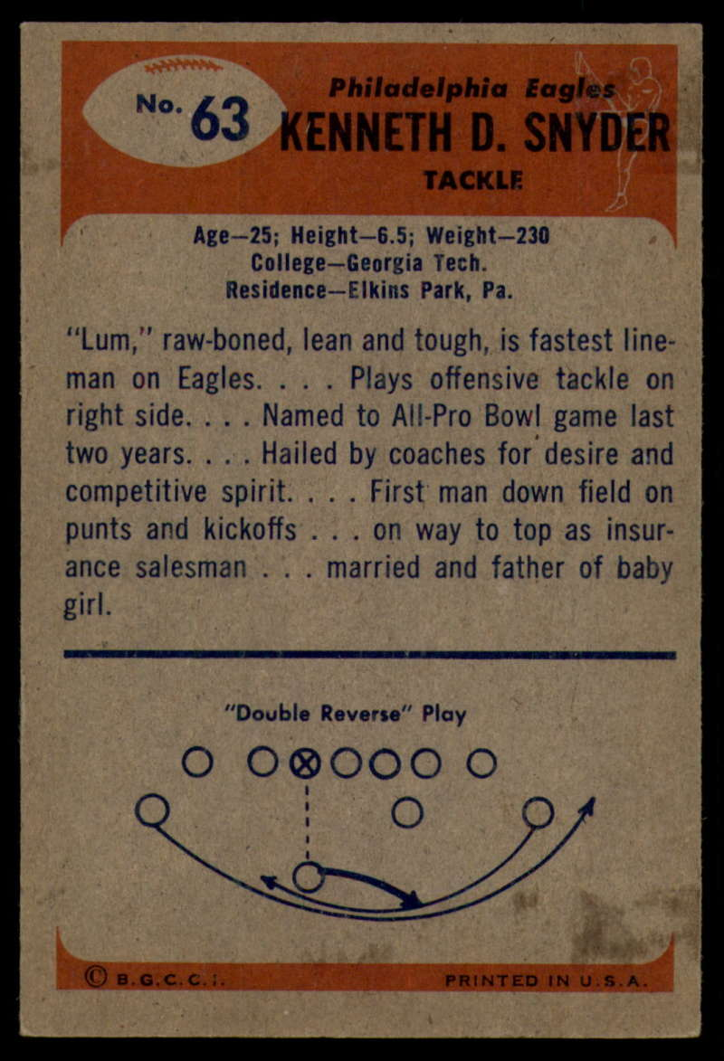 1955-Bowman-Football-1-70-Complete-your-set-Pick-your-card thumbnail 341
