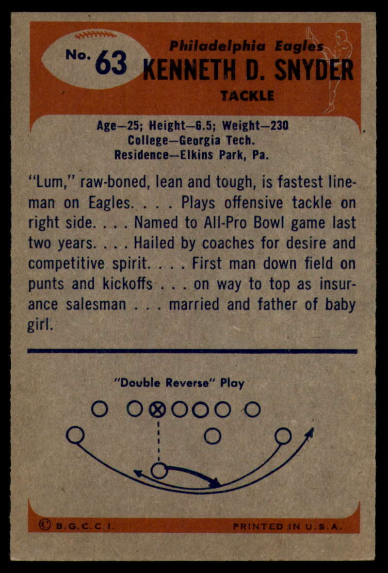 1955-Bowman-Football-1-70-Complete-your-set-Pick-your-card thumbnail 343