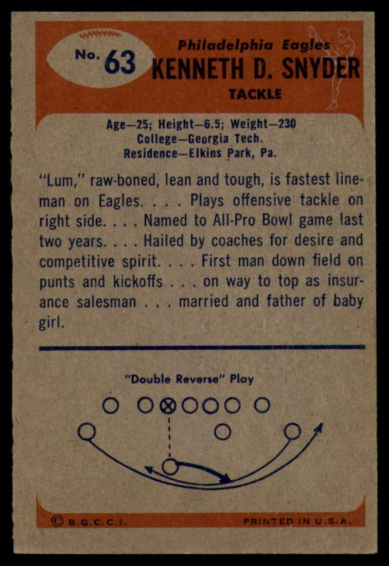 1955-Bowman-Football-1-70-Complete-your-set-Pick-your-card thumbnail 349