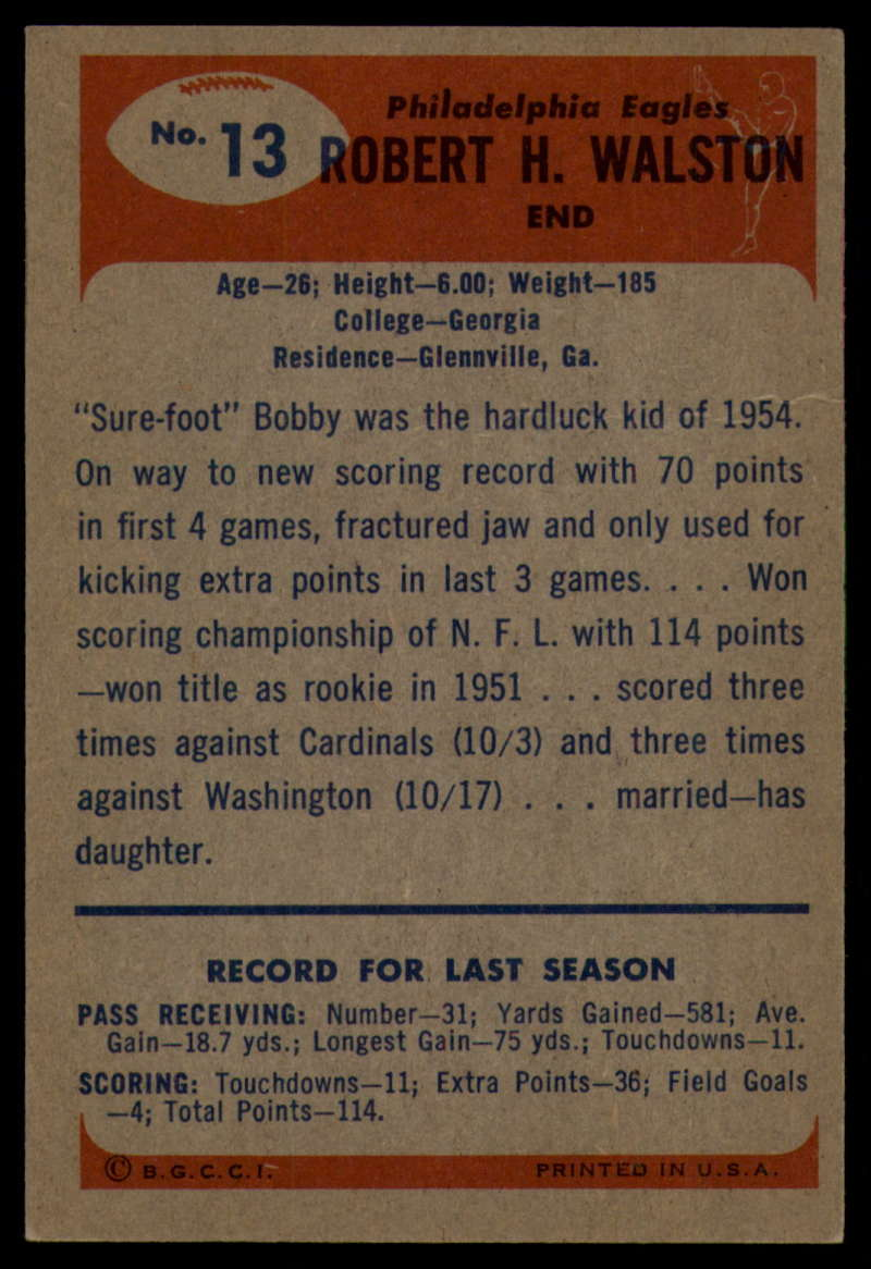 1955-Bowman-Football-1-70-Complete-your-set-Pick-your-card thumbnail 63