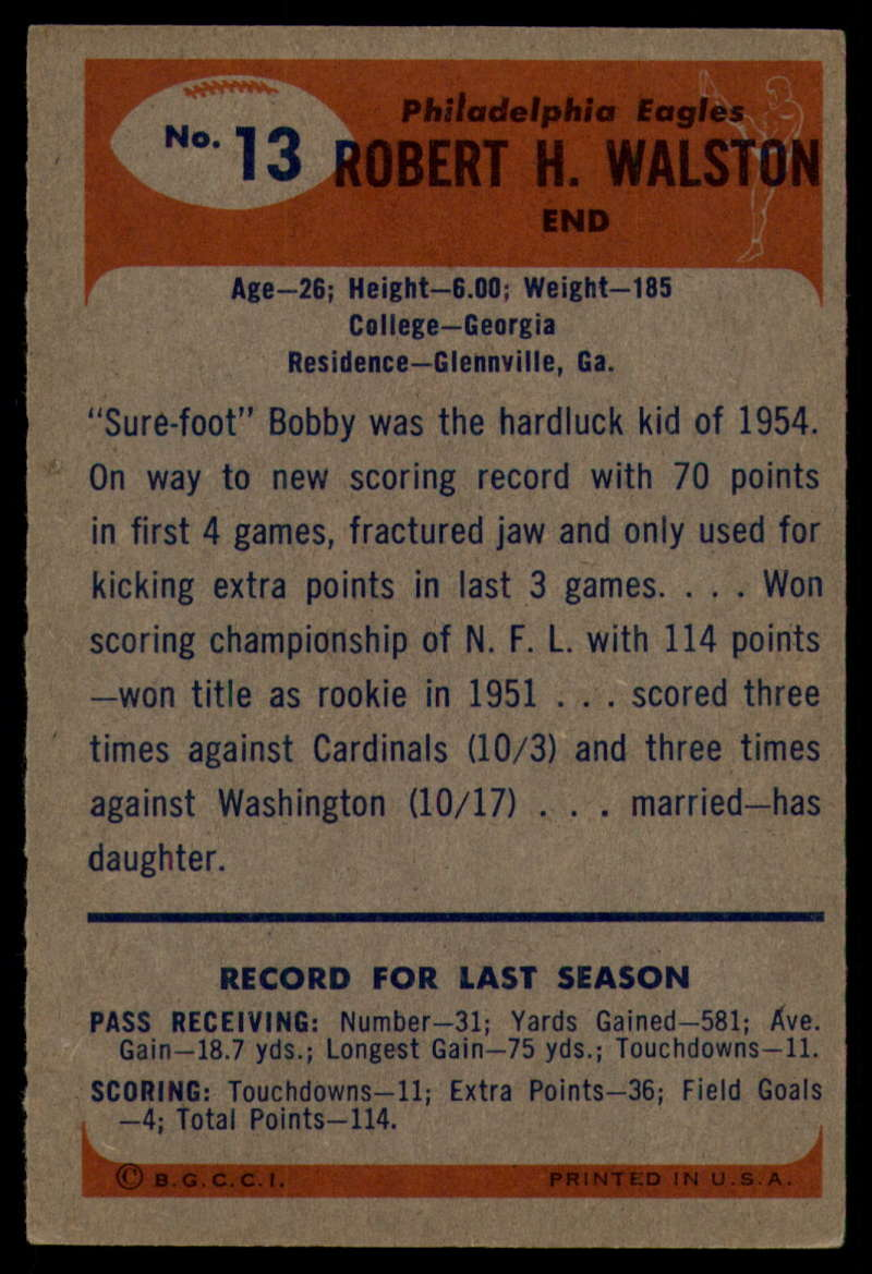1955-Bowman-Football-1-70-Complete-your-set-Pick-your-card thumbnail 65