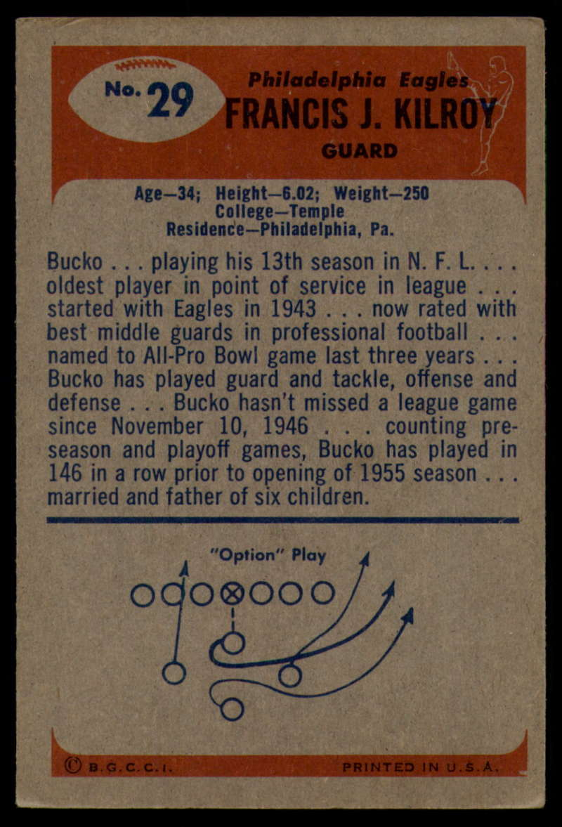 1955-Bowman-Football-1-70-Complete-your-set-Pick-your-card thumbnail 147