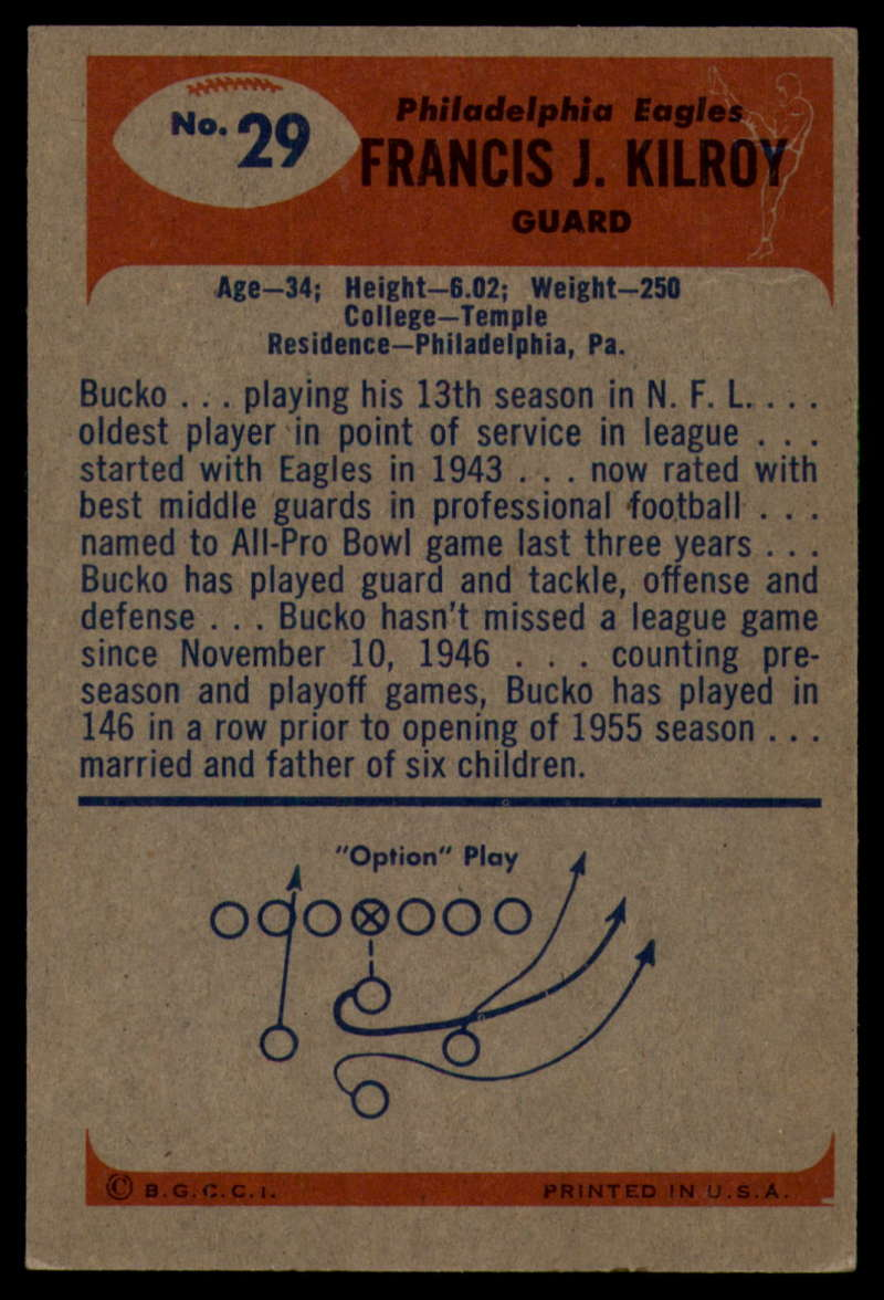 1955-Bowman-Football-1-70-Complete-your-set-Pick-your-card thumbnail 149