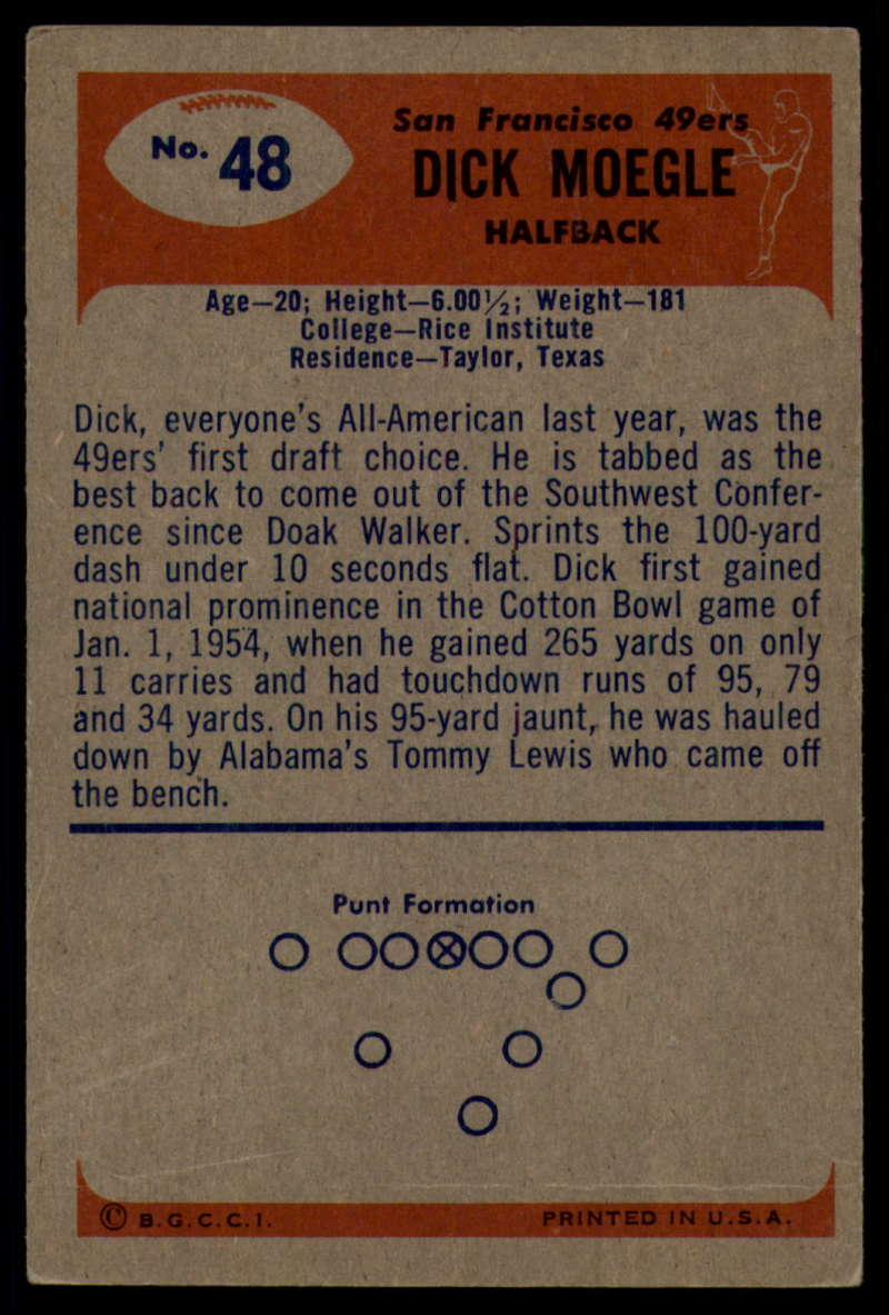 1955-Bowman-Football-1-70-Complete-your-set-Pick-your-card thumbnail 251