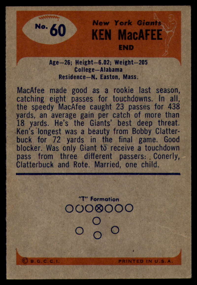 1955-Bowman-Football-1-70-Complete-your-set-Pick-your-card thumbnail 323