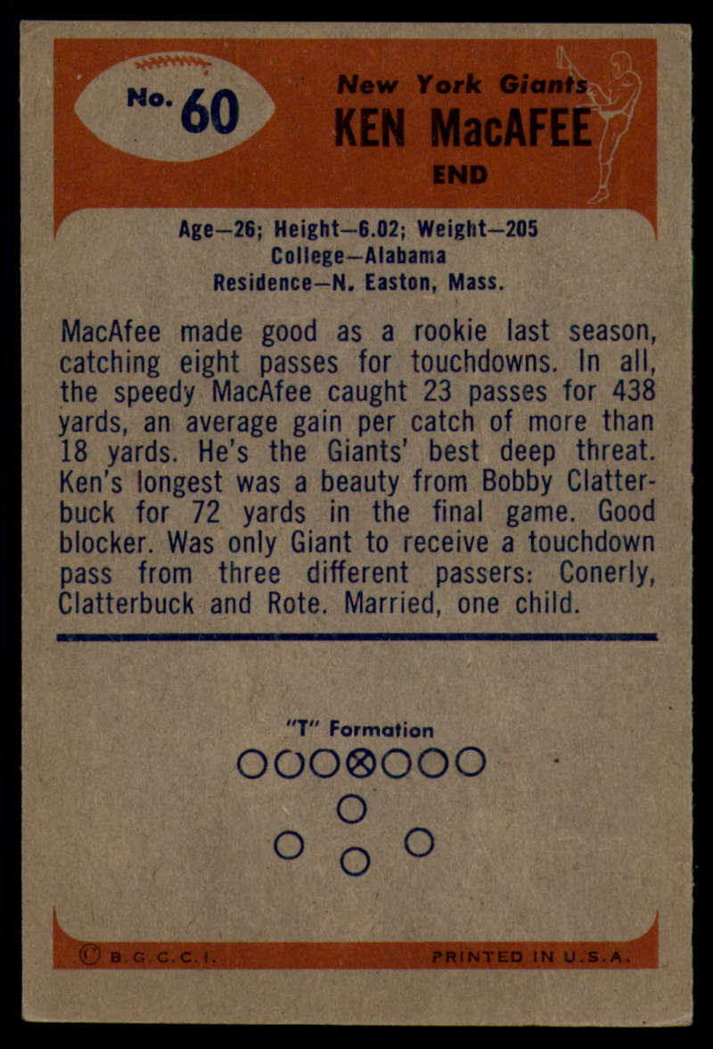 1955-Bowman-Football-1-70-Complete-your-set-Pick-your-card thumbnail 327