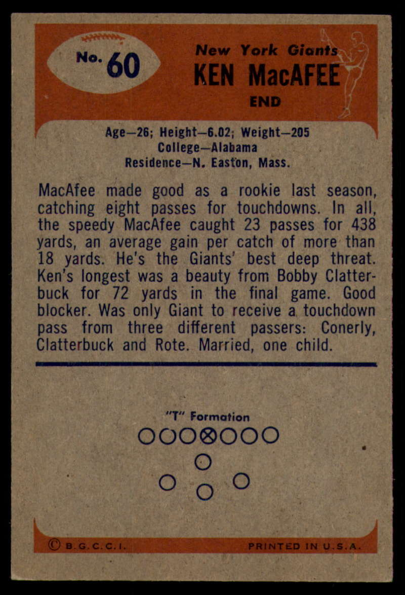 1955-Bowman-Football-1-70-Complete-your-set-Pick-your-card thumbnail 329