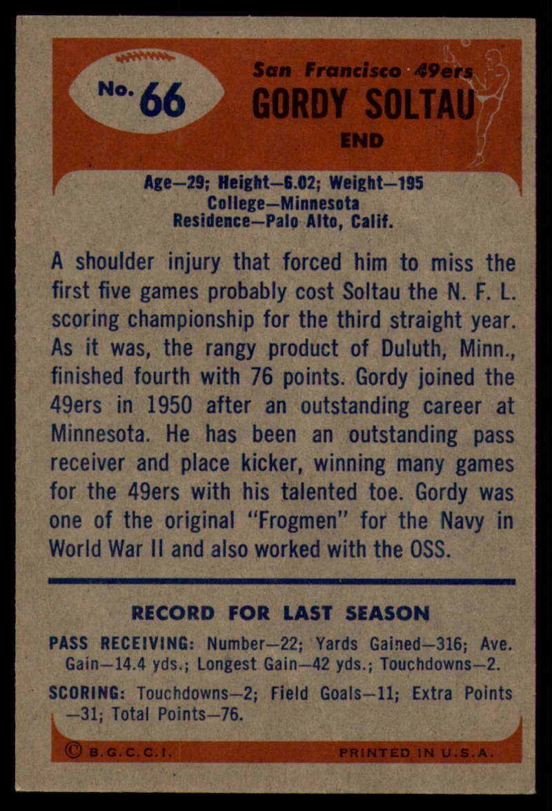 1955-Bowman-Football-1-70-Complete-your-set-Pick-your-card thumbnail 361