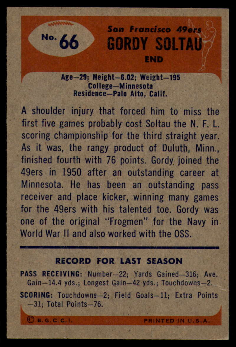 1955-Bowman-Football-1-70-Complete-your-set-Pick-your-card thumbnail 363