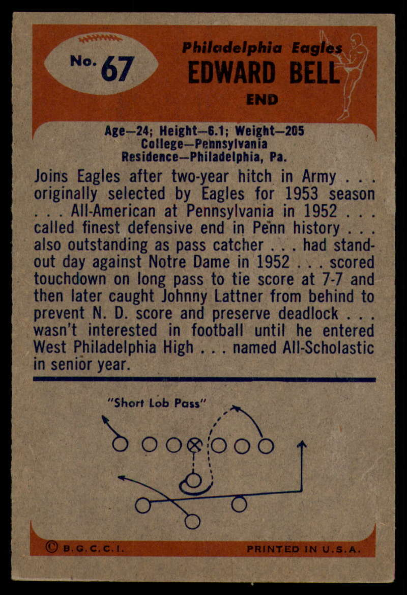 1955-Bowman-Football-1-70-Complete-your-set-Pick-your-card thumbnail 367