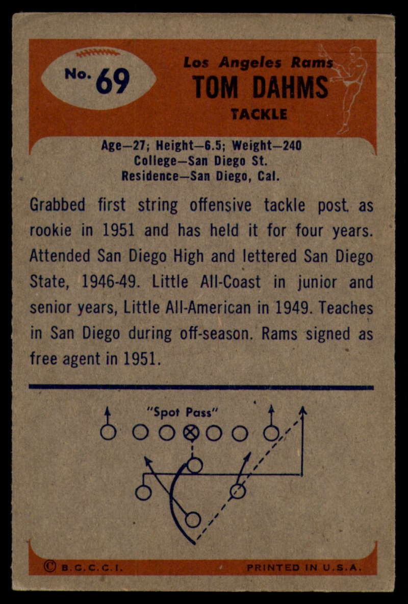 1955-Bowman-Football-1-70-Complete-your-set-Pick-your-card thumbnail 373