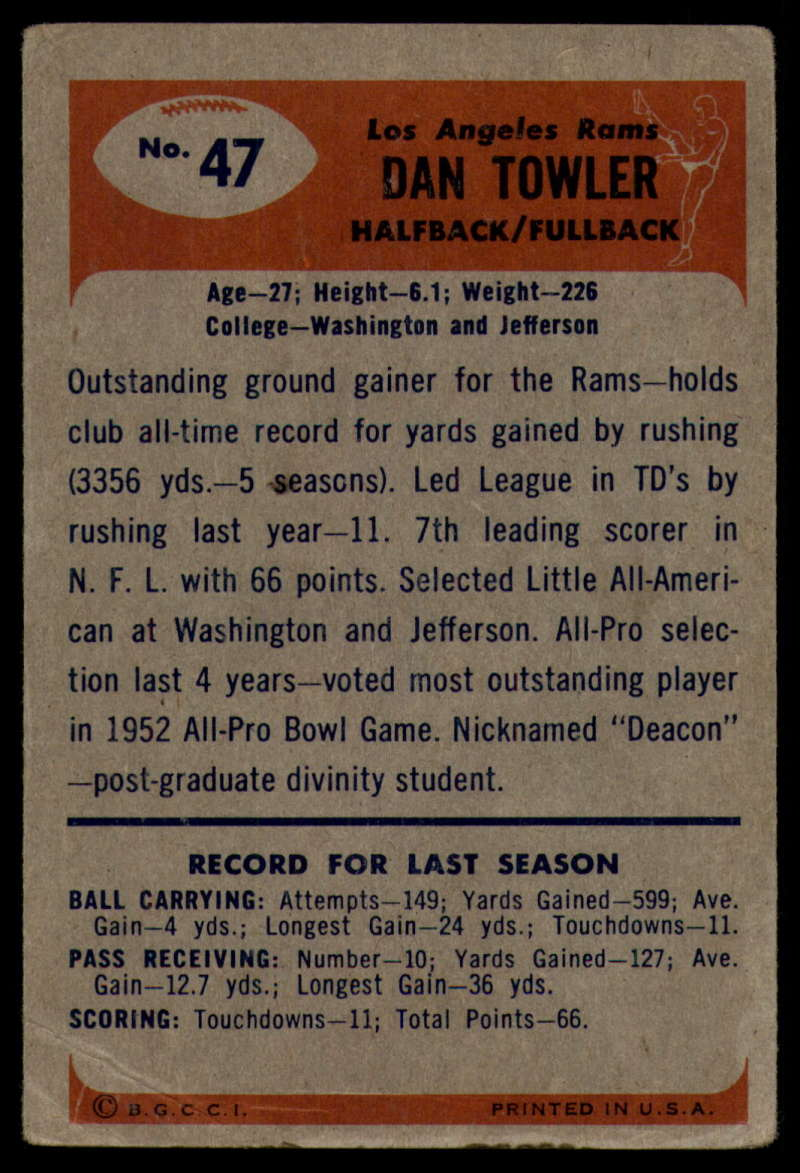 1955-Bowman-Football-1-70-Complete-your-set-Pick-your-card thumbnail 247