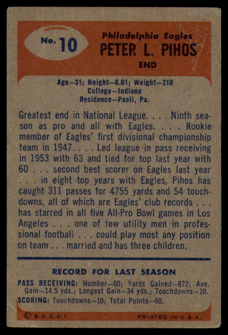 1955-Bowman-Football-1-70-Complete-your-set-Pick-your-card thumbnail 51
