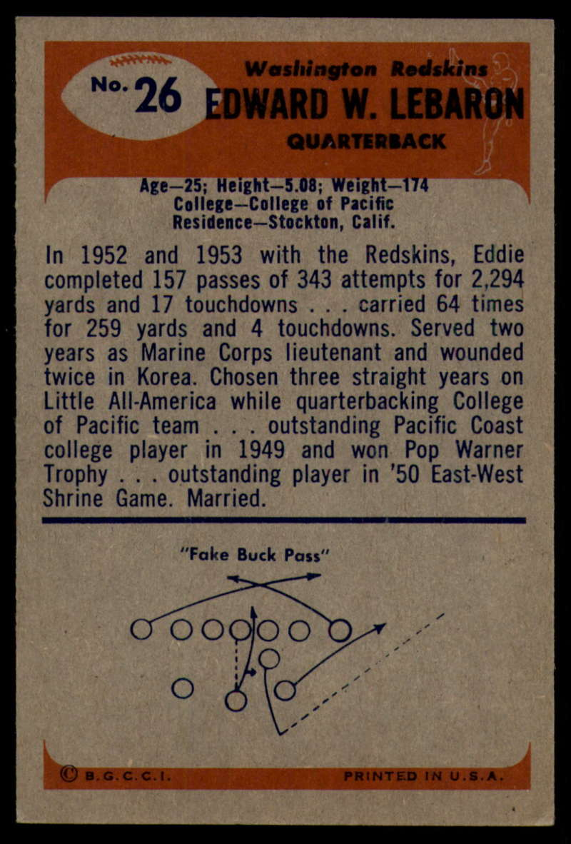1955-Bowman-Football-1-70-Complete-your-set-Pick-your-card thumbnail 129