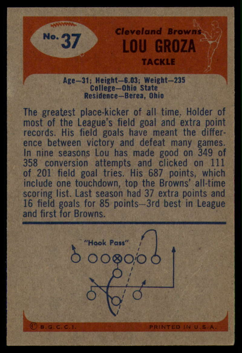 1955-Bowman-Football-1-70-Complete-your-set-Pick-your-card thumbnail 177